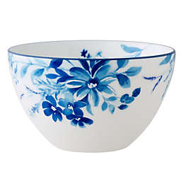 Noritake® Blossom Road Soup/Cereal Bowl in White/Blue