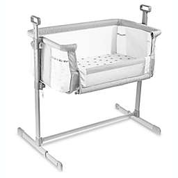 Milliard Bedside Bassinet in Grey