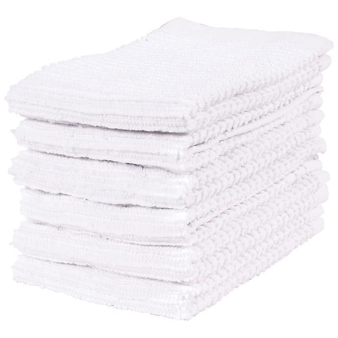 Alternate image 1 for Simply Essential™ Bar Mop Kitchen Towels (Set of 6)