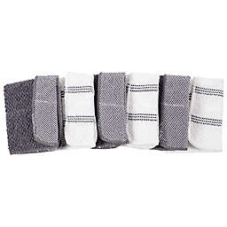 Simply Essential™ Scrubber Dish Cloths in Grey (Set of 6)