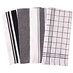 Our Table™ Select Multi Purpose Kitchen Towels in Black (Set of 4)