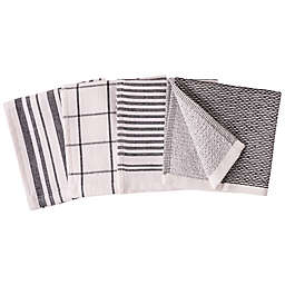 Our Table™ Select Dual Sided Dish Cloths in Black (Set of 4)