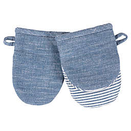 Our Table™ Select Mini Mitts in Navy (Set 2)