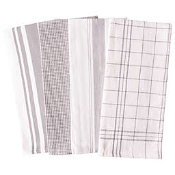 Our Table™ Select Multi Purpose Kitchen Towels in Grey (Set of 4)
