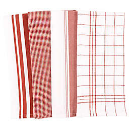 Our Table™ Select Multi Purpose Kitchen Towels in Cedar Wood (Set 4)