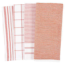 Our Table™ Select Dual Sided Kitchen Towels in Cedar Wood (Set of 4)