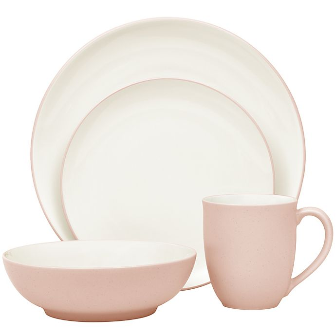 Alternate image 1 for Noritake® Colorwave Coupe 4-Piece Place Setting in Pink