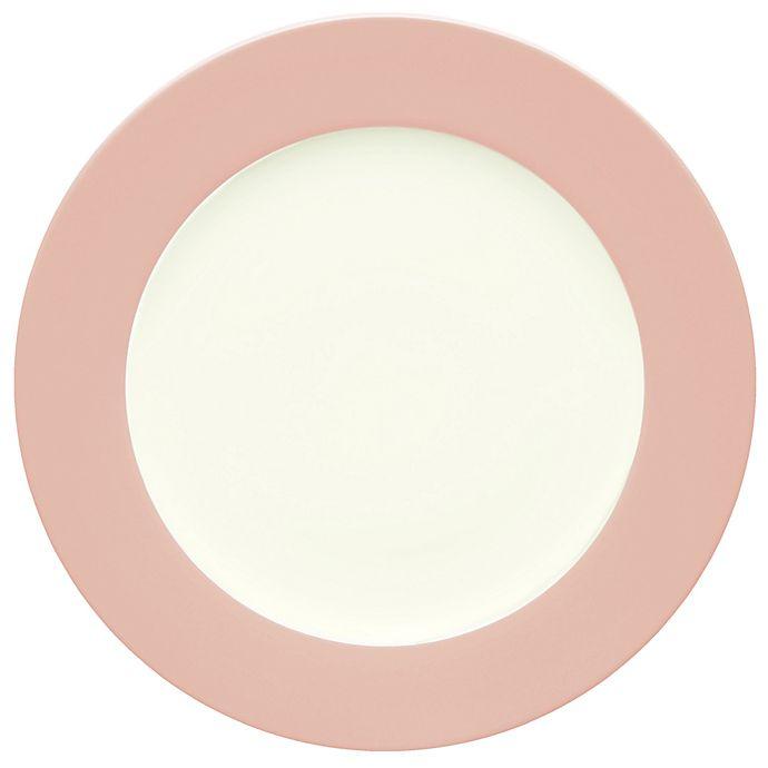Alternate image 1 for Noritake® Colorwave Rim Dinner Plate in Pink