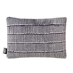 UGG® Iceberg Oblong Throw Pillow in Charcoal