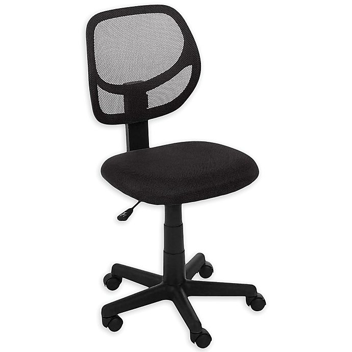 Alternate image 1 for Rolling Office Chair in Black