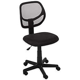 Rolling Office Chair in Black