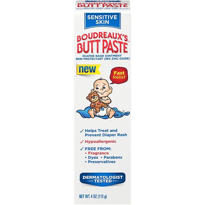Alternate image 1 for Boudreaux's® 4 oz. Butt Paste Diaper Rash Ointment for Sensitive Skin