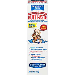 Boudreaux's® 4 oz. Butt Paste Diaper Rash Ointment for Sensitive Skin