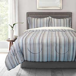 Springs Home Denim Stripe 3-Piece Comforter Set