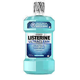Listerine® UltraClean® 33.8 oz.Antiseptic Mouthwash in Artic Mint