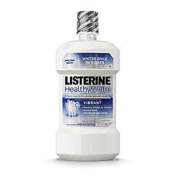 Listerine® Healthy White™ 32 oz. Vibrant Anticavity Mouthrinse