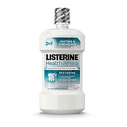 Listerine® 32 oz. Whitening Plus Restoring Fluoride Rinse in Clean Mint