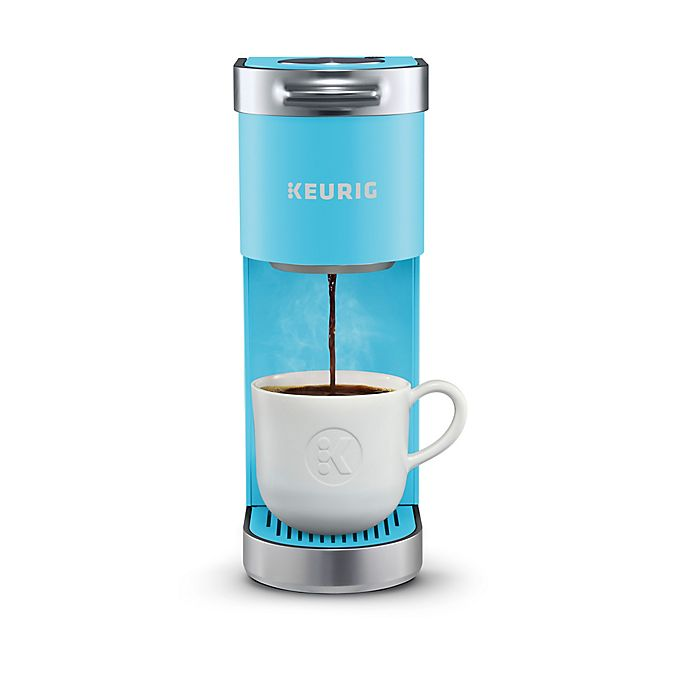 Alternate image 1 for Keurig® K-Mini Plus™ Single Serve K-Cup® Pod Coffee Maker in Aqua