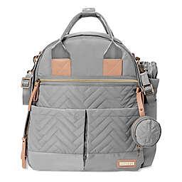 SKIP*HOP® Suite 6-Piece Diaper Backpack Set in Dove Grey