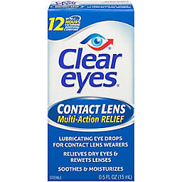 Clear Eyes® .5 oz. Multi Action Relief Contact Lens Drops