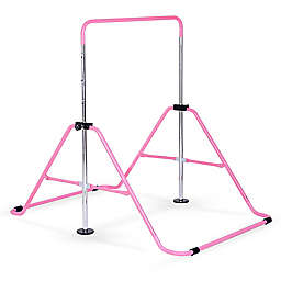 Pure Fun Junior Training Expandable Gymnastics Bar in Pink