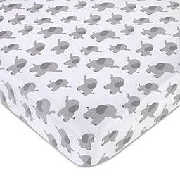 Wendy Bellissimo™ Mix & Match Lil Elephant Crib Sheet