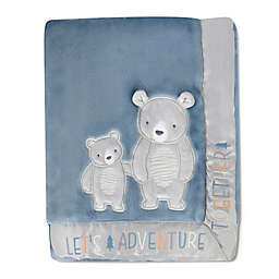 Wendy Bellissimo™ Mix & Match Best Friend Bears Plush Blanket