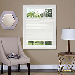 MyHome Top Down-Bottom Up Honeycomb 33-Inch x 64-Inch Cordless Cellular Shade in White