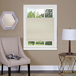 MyHome Top Down-Bottom Up Honeycomb 36-Inch x 64-Inch Cordless Cellular Shade in Alabaster
