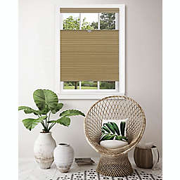 MyHome Top Down-Bottom Up Honeycomb 29-Inch x 64-Inch Cordless Cellular Shade in Wheat