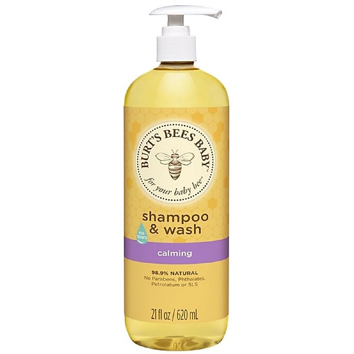 Alternate image 1 for Burt's Bees® Baby Bee® 21 oz. Calming Shampoo & Wash