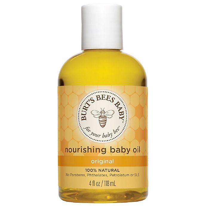 Alternate image 1 for Burt's Bees® Baby Bee® 4 fl. oz. Baby Oil