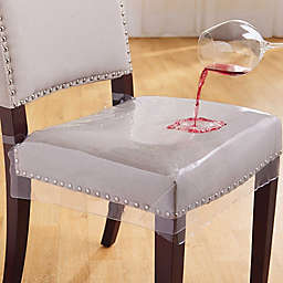 Simply Essential™ Clear Chair Seat Protectors (Set of 2)