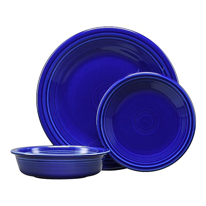 Alternate image 1 for Fiesta® 3-Piece Classic Place Setting in Twilight
