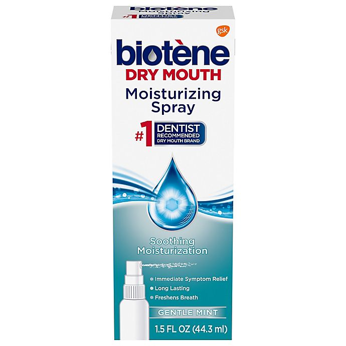 Alternate image 1 for Biotene Dry Mouth 1.5 oz. Moisturizing Spray in Gentle Mint