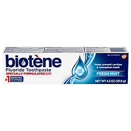 Biotene® 4.3 oz. Dry Mouth Fluoride Toothpaste Gentle Formula in Fresh Mint