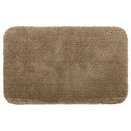 """Nestwell™ Soft Plush 21"""" x 34"""" Bath Rug in Brown"""