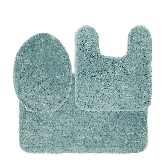 Alternate image 1 for Nestwell™ Soft Plush 3-Piece Bath Rug Set