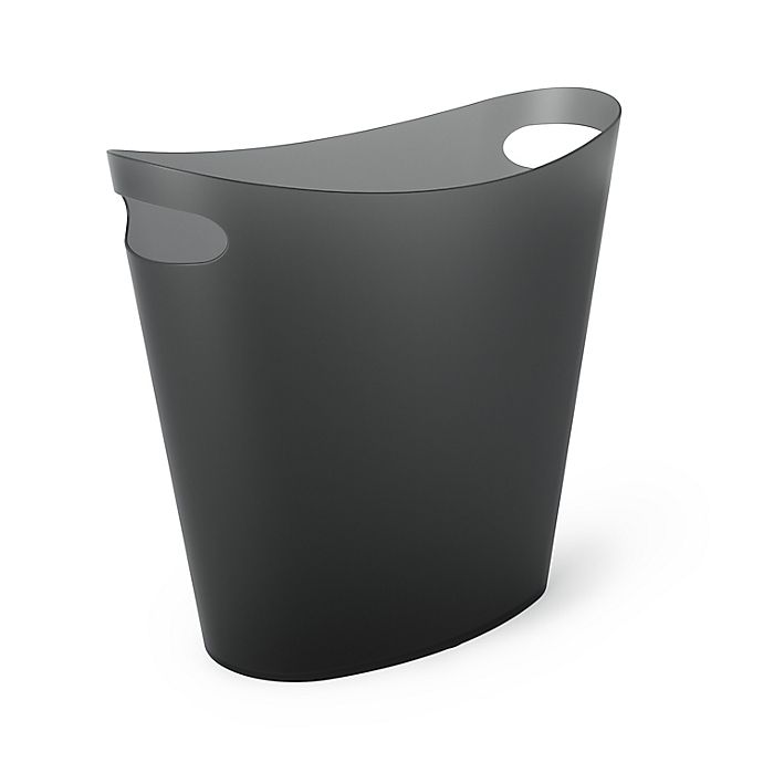 Alternate image 1 for Simply Essential™ 2-Gallon Slim Trash Can in Black