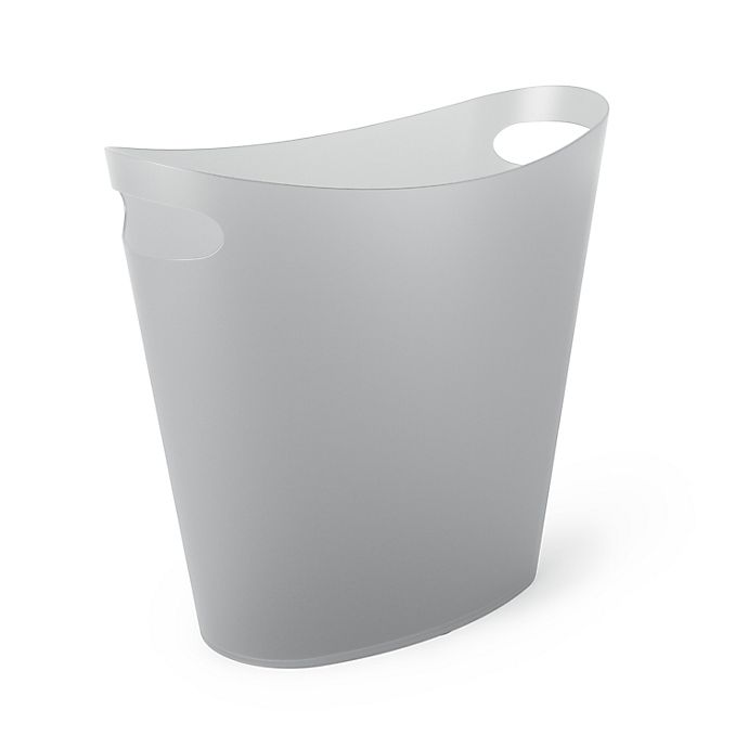 Alternate image 1 for Simply Essential™ 2-Gallon Slim Trash Can in Grey
