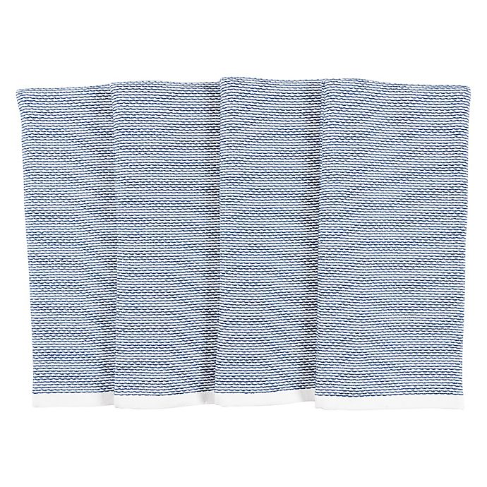 Alternate image 1 for Our Table™ Select Dual Purpose Pique Kitchen Towels (Set of 4)