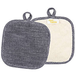 Our Table™ Select Terry Pot Holders (Set of 2)