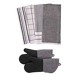 Our Table™ Select 6-Piece Dual Purpose Kitchen Towels and Oven Mitts Set