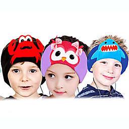 Contixo H1 Dog Kids Fleece Headphones in Brown