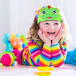 Contixo H1 Kids Dinosaur Fleece Headphones in Green