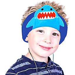 Contixo H1 Kids Shark Fleece Headphones in Blue