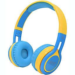 Contixo KB-2600 Wireless Kids Headphones in Blue