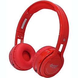Contixo KB-2600 Wireless Kids Headphones in Red