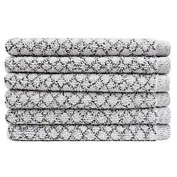 Everplush Trellis Washcloths (Set of 6)