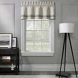 Concord Lined Window Valance in White